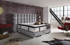 CROWN Boxspringbett CLARENCE DELUXE