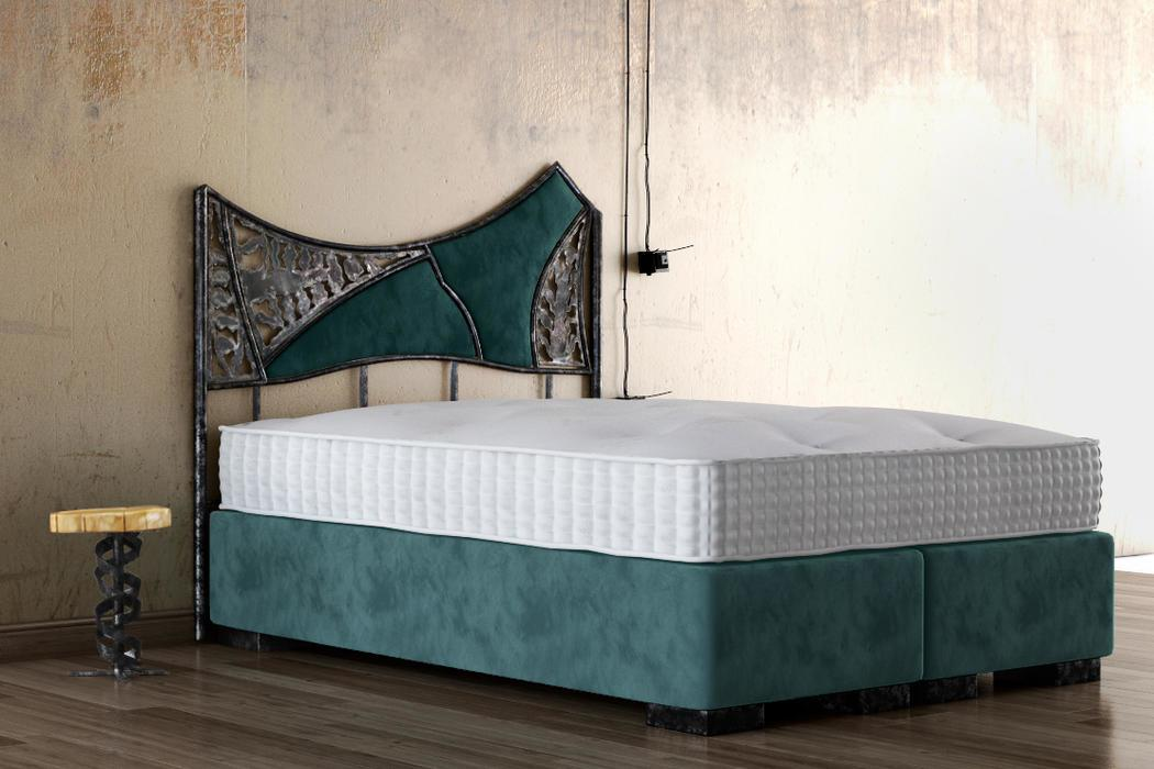 Boxspringbett Industrial Design Set III