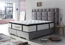 CROWN Boxspringbett QUADRO 3D DELUXE