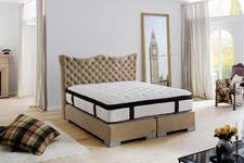CROWN Boxspringbett HAROLDS DELUXE