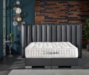 CROWN Boxspringbett TIMBER DELUXE