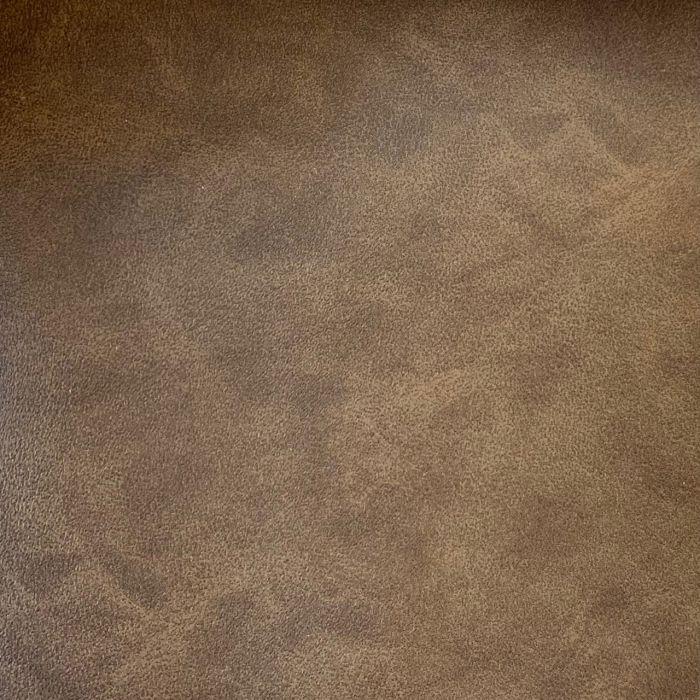 CROWN Boxspringbett TIMBER DELUXE, Kunstleder Stone Braun, 180x200 cm inkl. Matratze