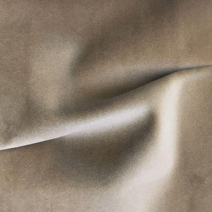 CROWN Boxspringbett JOKER DELUXE, hohe Taschenfederkern Matratze, inkl. Topper, Velours Seidenglanz Grau, 180x200 cm