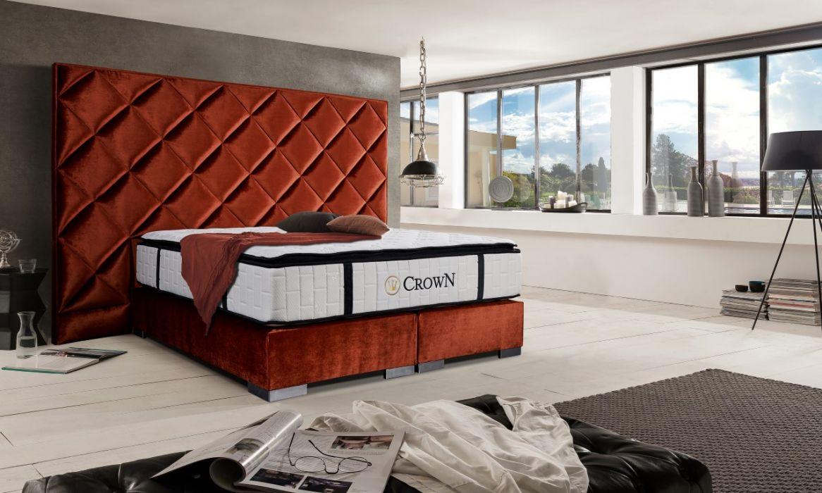 CROWN Boxspringbett Dubai Deluxe